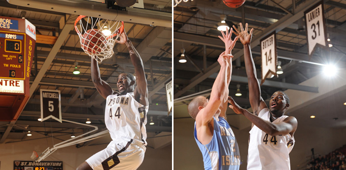 Adegboye and Nicholson carry the Bonnies to victory