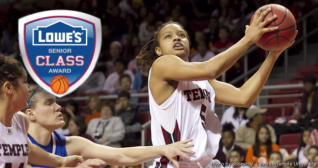 Temple's Kristen McCarthy named to Lowe's Senior Class Top 30