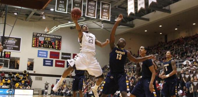 Chris Johnson leads Bonnies over Canisius, 81-62