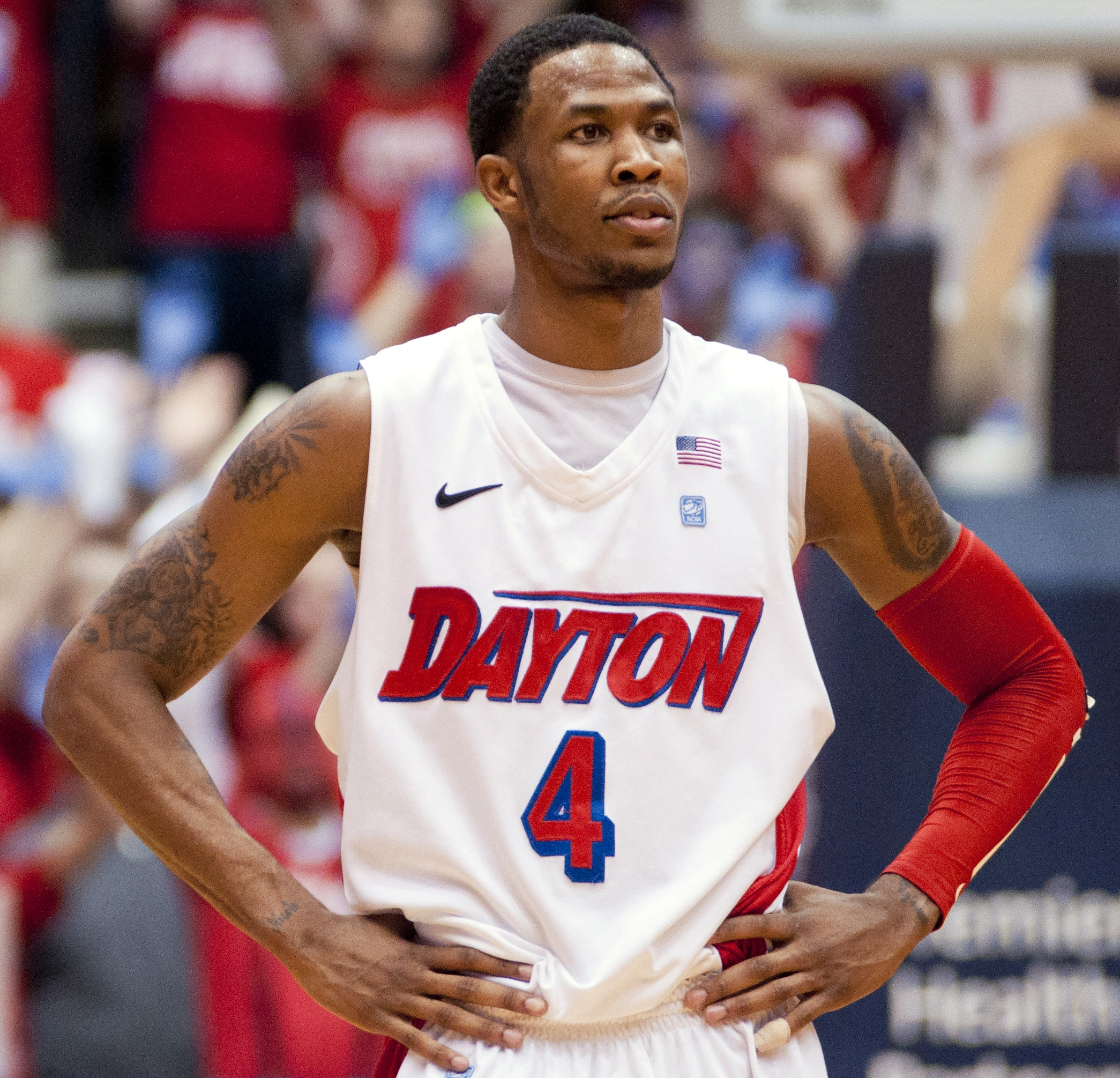 Johnson and Dayton leave no doubt in 76 43 handling of UMass