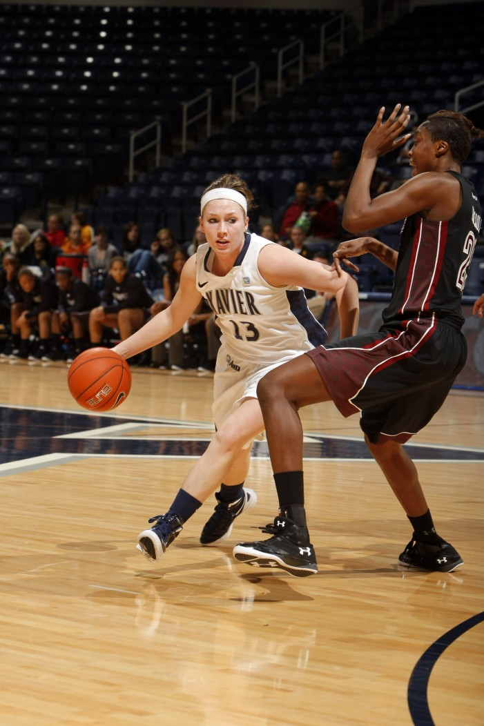 Xavier's Wanninger continues growing into her role