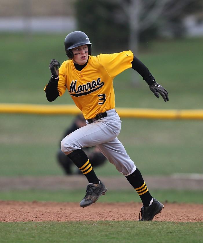 Klein pitches Monroe to doubleheader split
