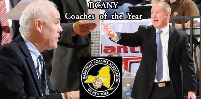 Schmidt, Crowley sweep BCANY Coach of the Year Honors