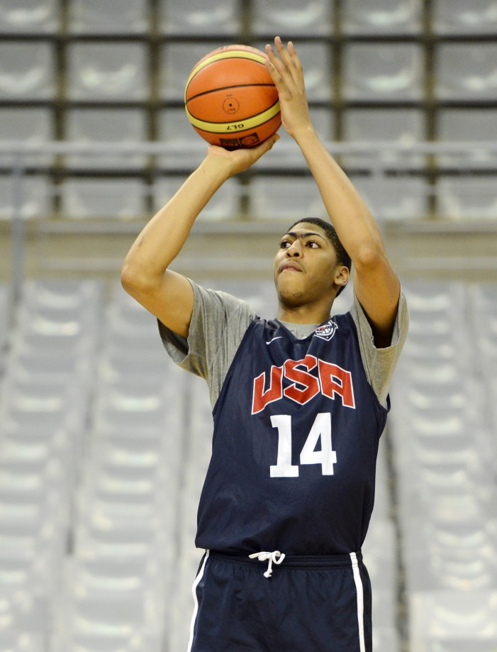 2012 Olympics: Why shouldn't Anthony Davis play more?
