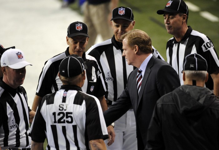 Oh Caption My Caption | Roger Goodell and NFL referees