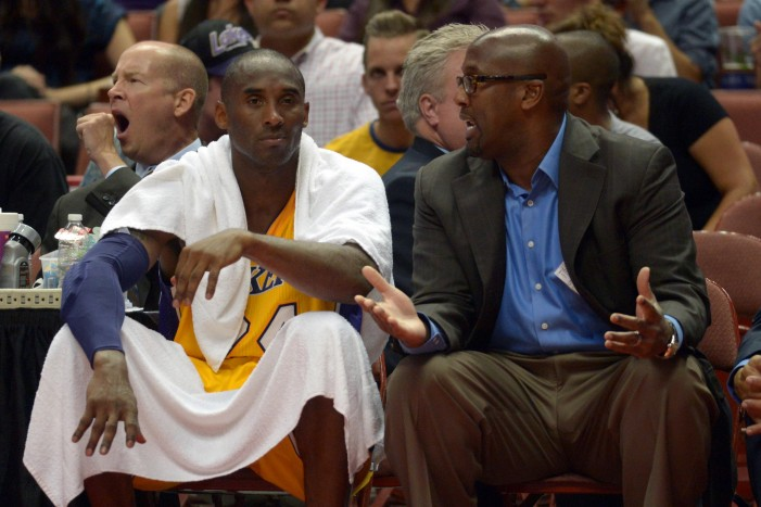 Oh Caption, My Caption | Kobe Bryant and Mike Brown