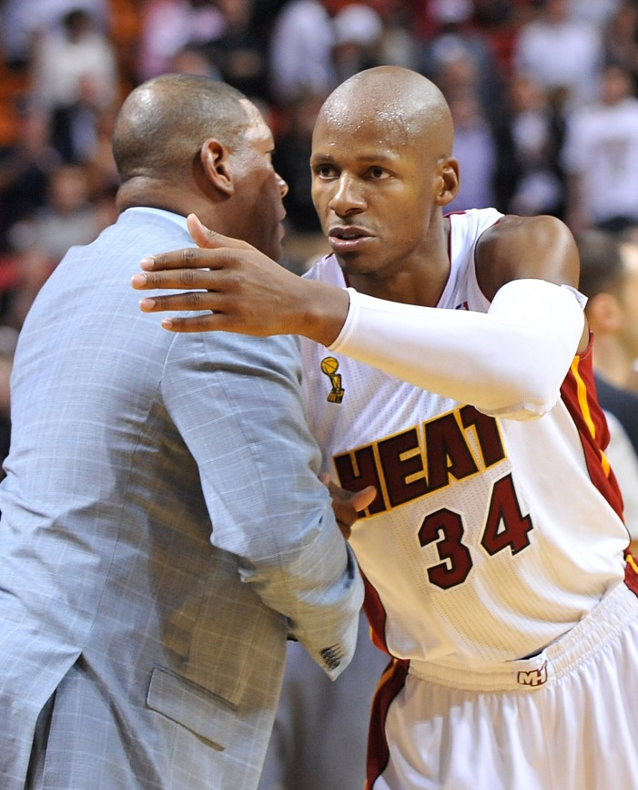 Oh Caption My Caption | Ray Allen and Doc Rivers
