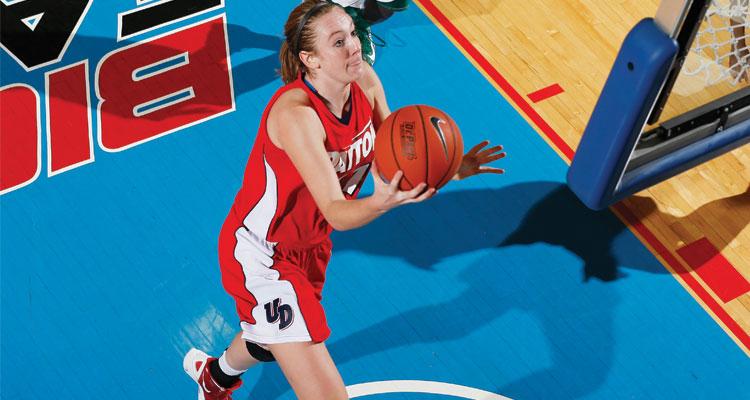 Ally Malott ((Courtesy of Dayton Athletics)