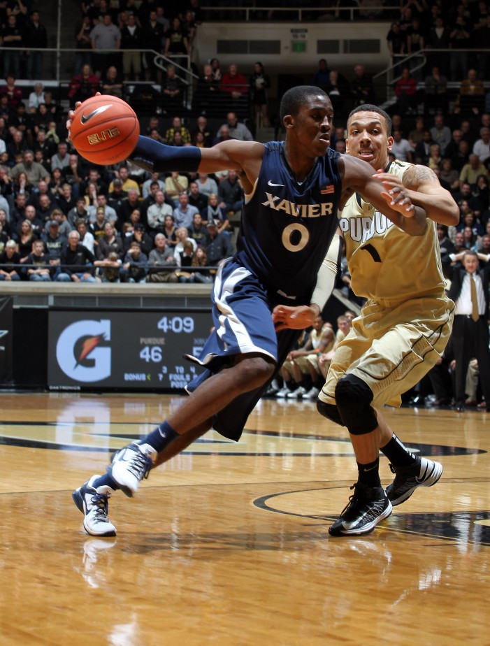Xavier secures tough 63-57 road victory over Purdue