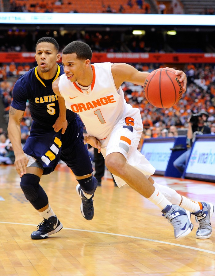 'Cuse backcourt duo drives the engine