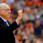 Syracuse Orange head coach Jim Boeheim. (Photo by  Rich Barnes-USA TODAY Sports)