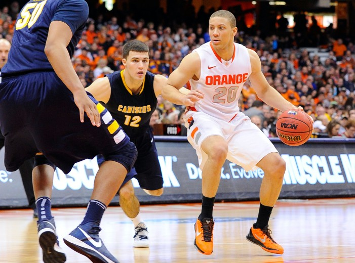 Syracuse runs away from Canisius, 85-61