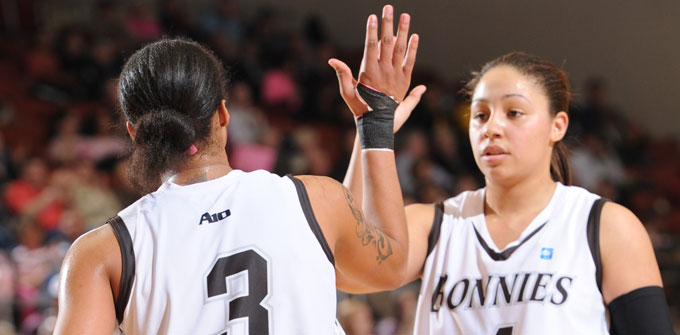 Bonnies women use stifling defense to hold off UMass, 61-49