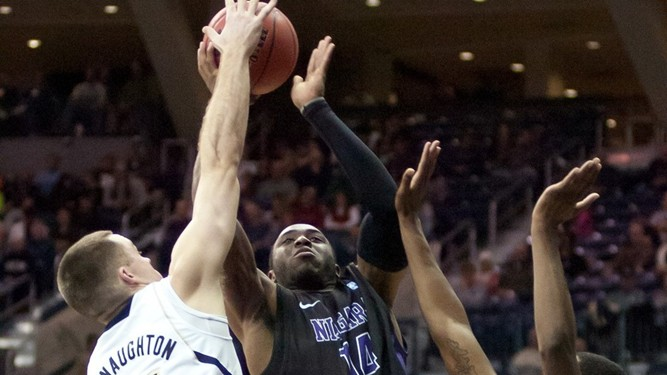 Niagara outlasts Fairfield, 67-64, for fifth straight MAAC win