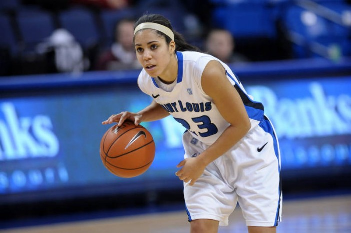 Desirae Ball helps Billikens defeat Richmond, 52-49