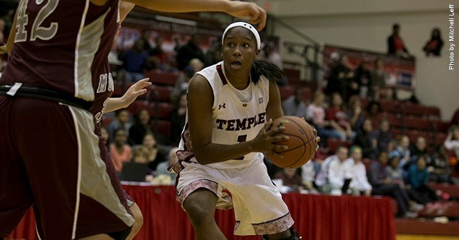 Temple women's basketball holds off Penn in Big 5 action, 59-51