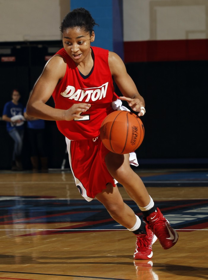 #14/14 @DaytonWbball has five players in double figures in 67-47 win