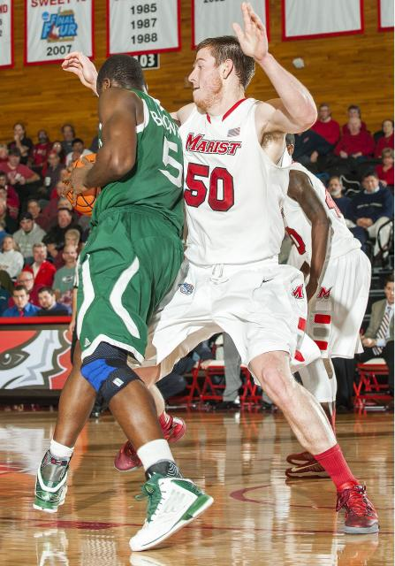 Kemp's second straight double-double lifts Marist over Loyola, 69-64