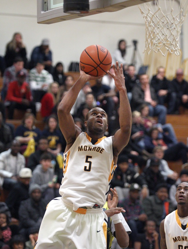 Johnson and Monroe get revenge with 85-70 defeat of Erie
