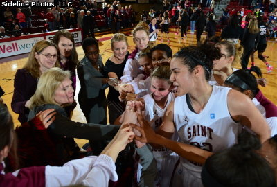 Saint Joseph's women's basketball downs Temple in overtime, 49-41