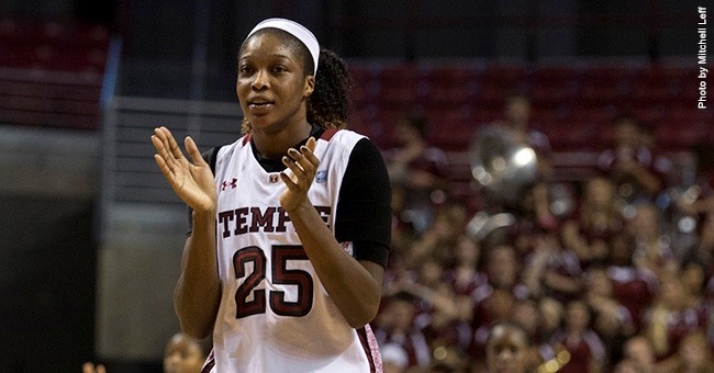 Temple women's basketball holds off Rhode Island, 56-45