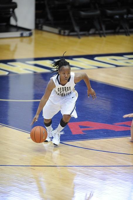 Danni Jackson (Courtesy of George Washington Athletics)
