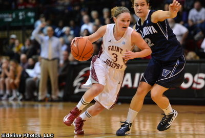 St. Joseph's womens basketball downs Duquesne in A-10 Quarterfinals, 73-60