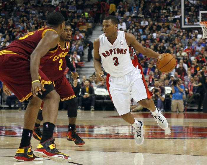 Raptors overcome poor shooting night, top Cavs 100-96