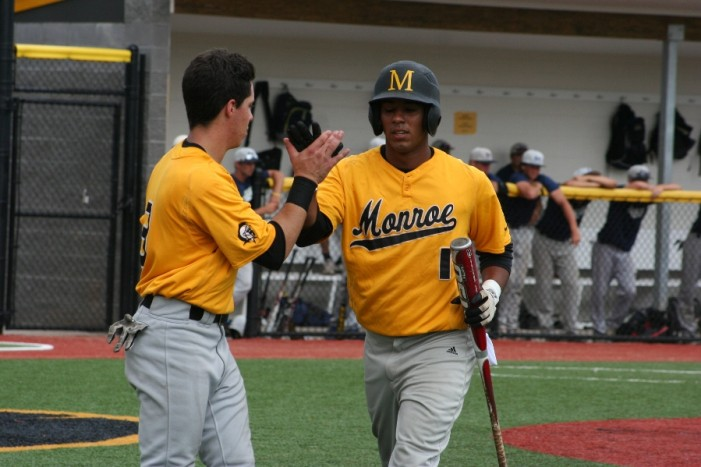 Rosario paces Monroe to opening split