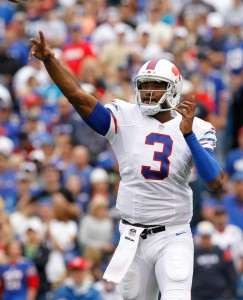 Can EJ Manuel continue to make the Buffalo Bills look smart? (Photo by Kevin Hoffman-USA TODAY Sports)