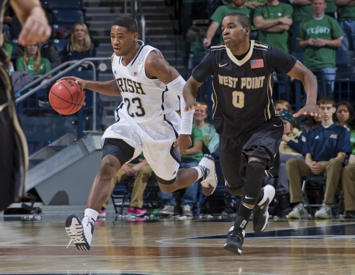 Army suffers road setback at Notre Dame