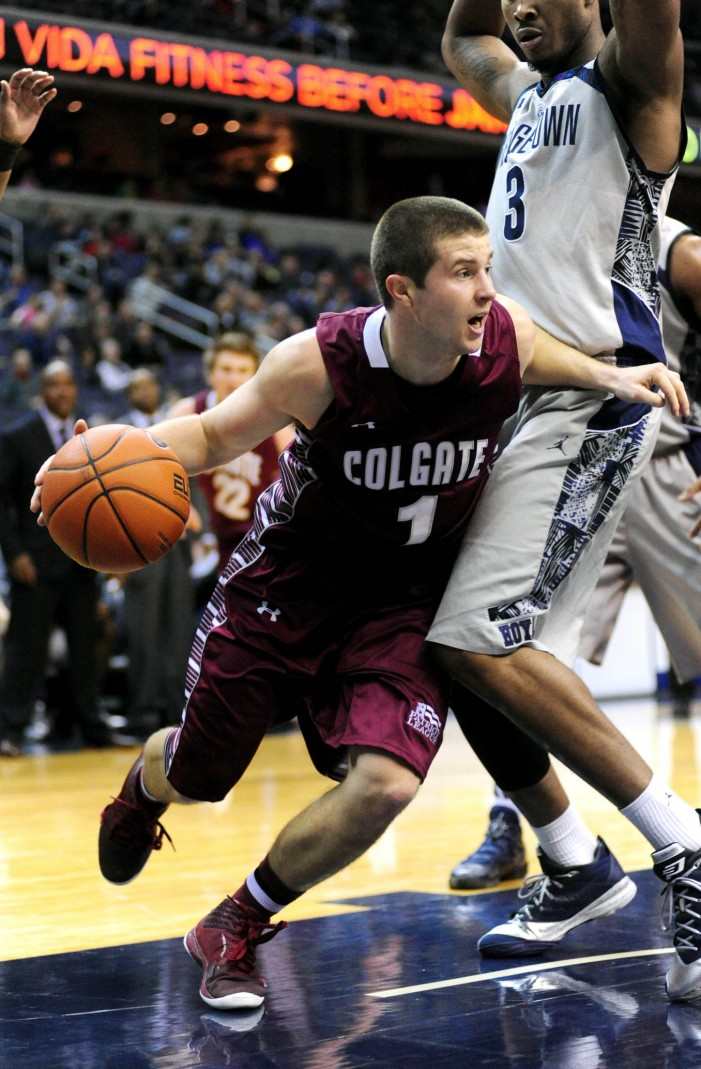 Colgate nearly clips off Georgetown