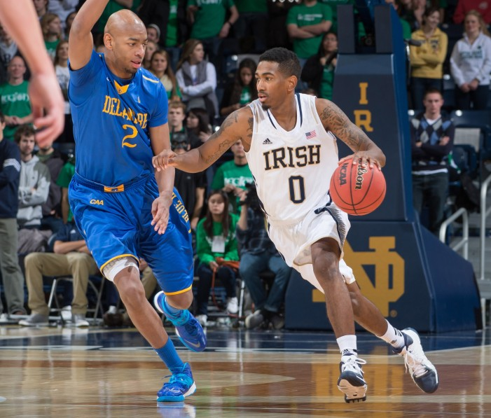 Atkins and Notre Dame outlast Canisius in overtime