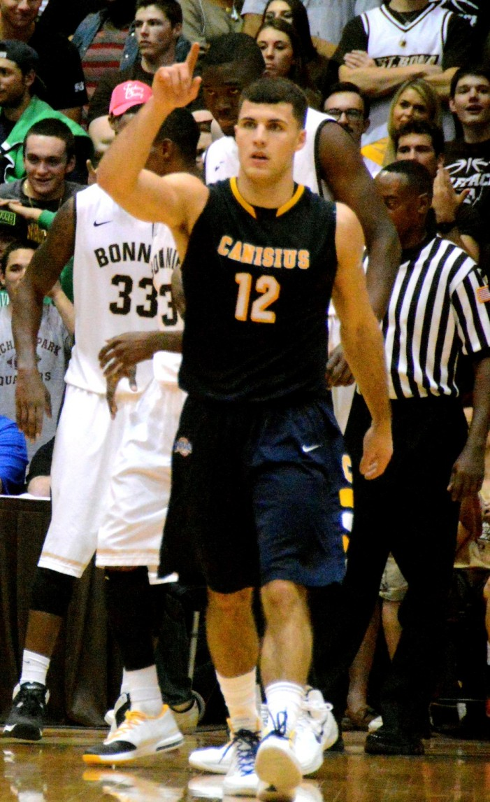 Billy Baron and Canisius take battle with Niagara