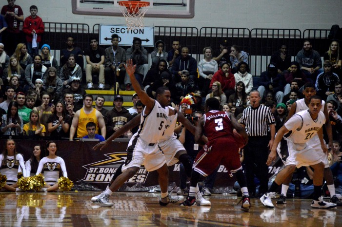 Bona senior class etches its mark with upset of #21UMass