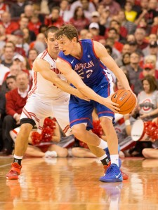Schoof paced American with 22 points. (Photo: Greg Bartram-USA TODAY Sports)