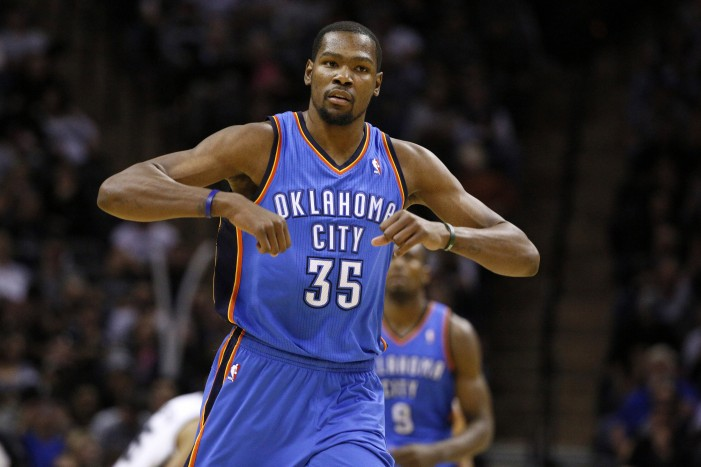 Kevin Durant drops 36, Thunder roll past Spurs