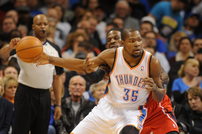 Kevin Durant extends scoring streak, hits game-winner against Atlanta Hawks