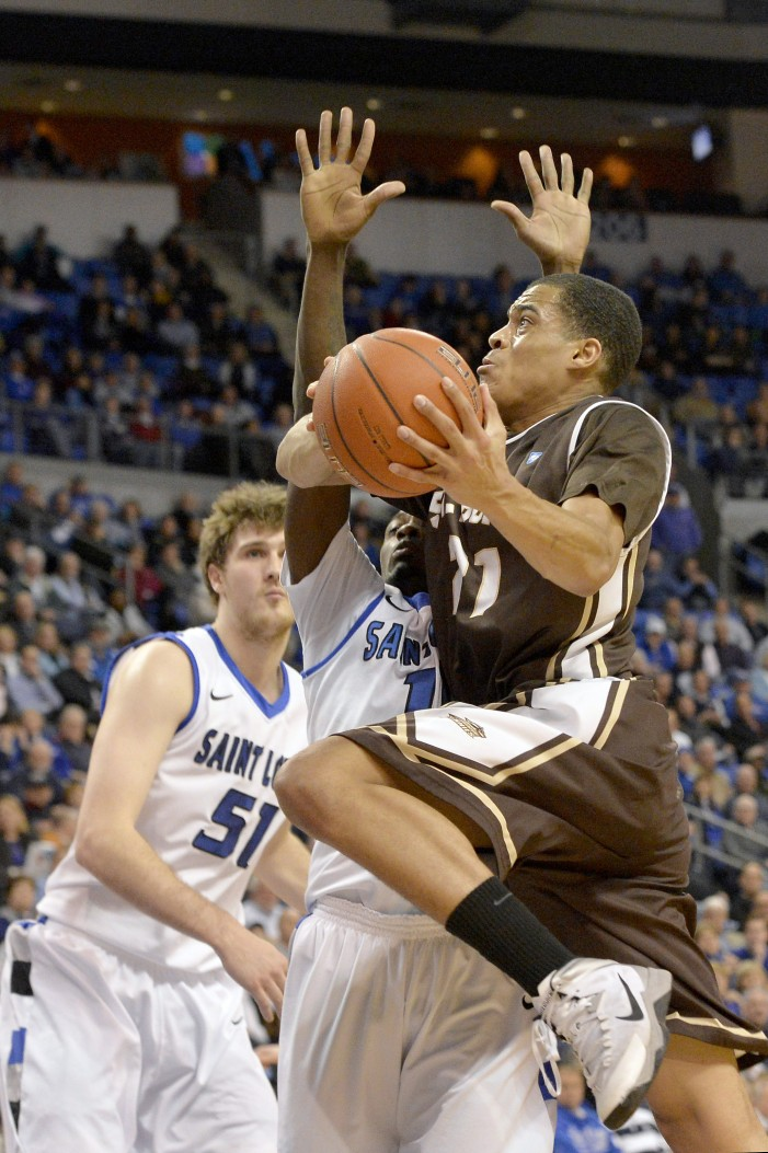 Dion Wright provides production off the St. Bonaventure bench