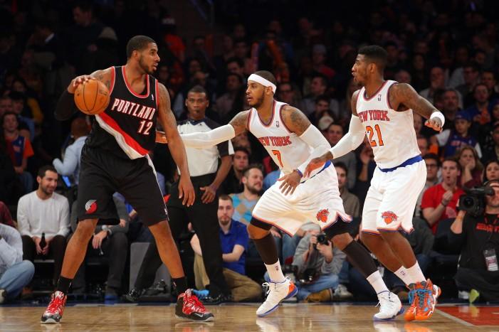 Trail Blazers extend Knicks losing streak