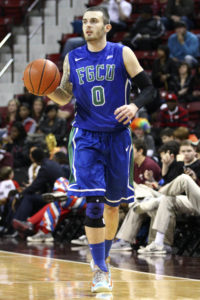Comer leads FGCU with 5.4 assists a game. (Photo by Spruce Derden-USA TODAY Sports)