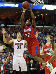 Pollard scored a career-high 12 in Dayton's Sweet Sixteen win over Stanford. Nelson Chenault-USA TODAY Sports
