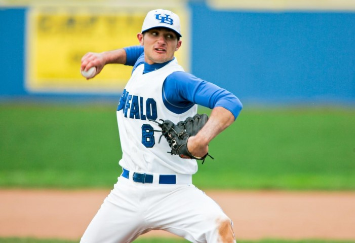 Burke seals series sweep for UB