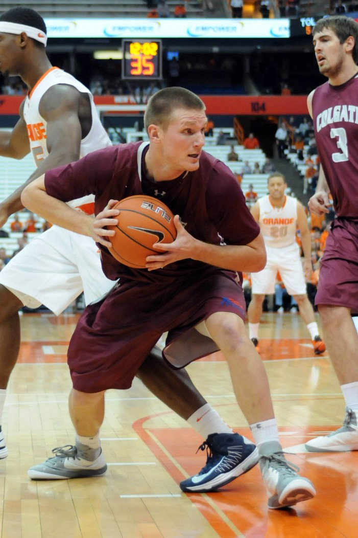 Colgate's Moore to return for fifth year