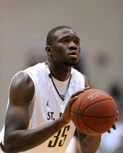 Ndoye was named Big 4 Pre-Season Player of the Year. (Photo by Rich Barnes-USA TODAY Sports)