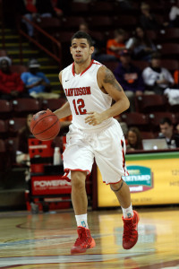 Davidson's  Jack Gibbs grabbed A10 Player of the Week honors. (Photo by Jeremy Brevard-USA TODAY Sports)