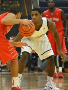 Williams scored 17 to lead the Griffs. (Photo by Johnathan Snyder/ WNYBig4Talk.com)