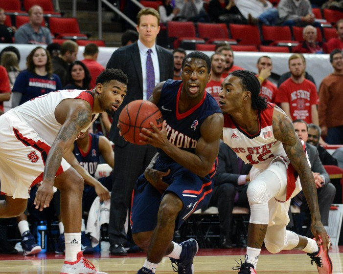 Richmond dominates Duquesne with long-range attack, 86-55