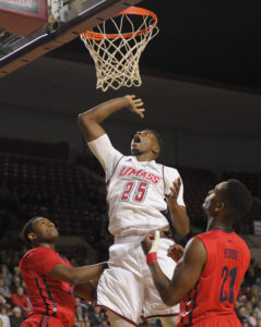 Lalanne led UMass with 18 points and seven rebounds. (Bob DeChiara-USA TODAY Sports)