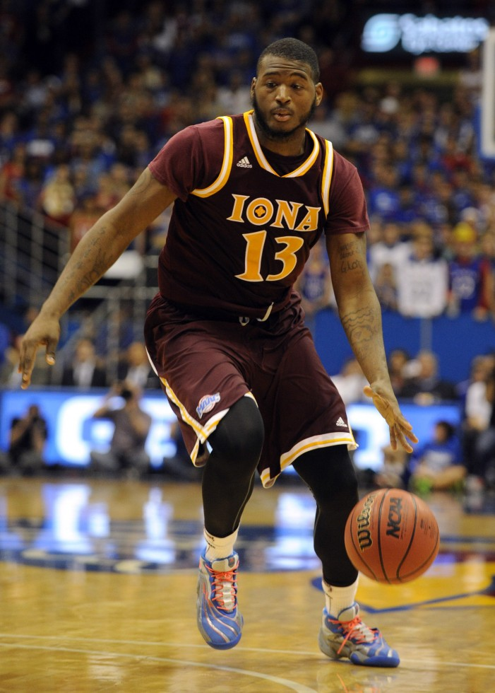 Iona's David Laury announced as a candidate for first-ever Karl Malone Award